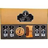 DUCKBUTTER Duck Butter Beard Oil Beardsman Pack - 4 Scents with Brush
