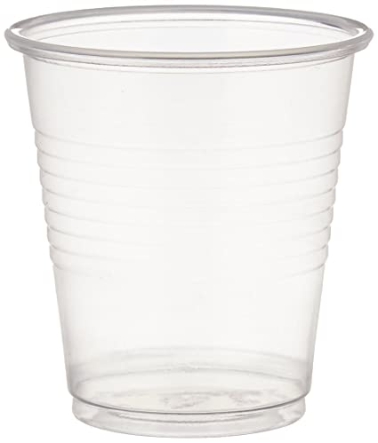 Plastic Drinking Cups, 100 Per Packageu2026