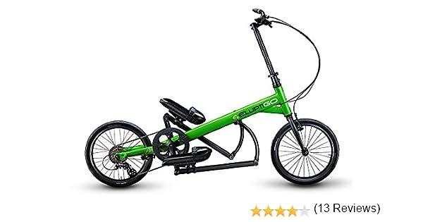 ElliptiGO ARC 8 – La Primera del Mundo Al Aire Libre Bicicleta Elíptica, Verde: Amazon.es: Deportes y aire libre