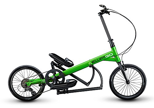 ElliptiGO Arc – The World's First Outdoor Elliptical Bike (Green)