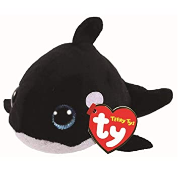 676d6a0db94 Ty Beanie Babies Teeny Orville the Whale Orca  Amazon.co.uk  Toys ...