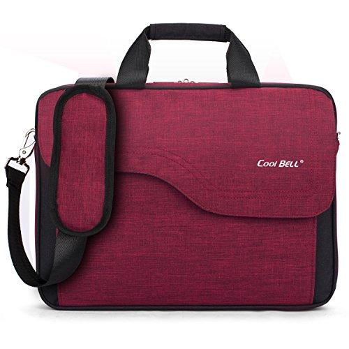 CoolBELL 17.3 Inch Nylon Laptop Bag Shoulder Bag With Str...