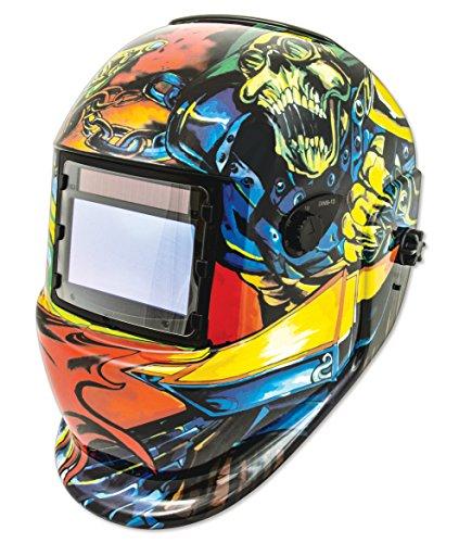 Shop Iron 41289 Solar Powered Auto Darkening Welding Helmet
