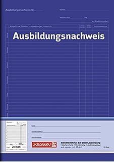 Berichtsheft A4 28 Blatt Für Die Berufsausbildung Amazonde Elektronik