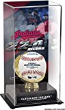 Sports Memorabilia Cleveland Indians 2017 Record Winning Streak Sublimated Display Case with Image - Baseball Other Display Cases