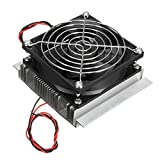 SODIAL(R) Refrigeration Cooling Cooler Fan System Heatsink Kit 12V