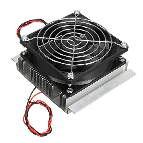 SODIAL(R) Refrigeration Cooling Cooler Fan System Heatsink Kit 12V by SODIAL(R)