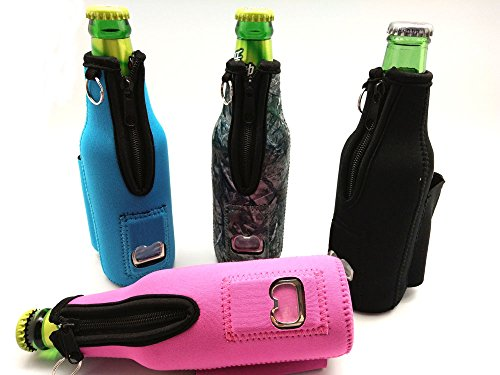 beer bottle coolie with bottle opener and cigarette and lighter holder 4 pack induction cooktops. Black Bedroom Furniture Sets. Home Design Ideas