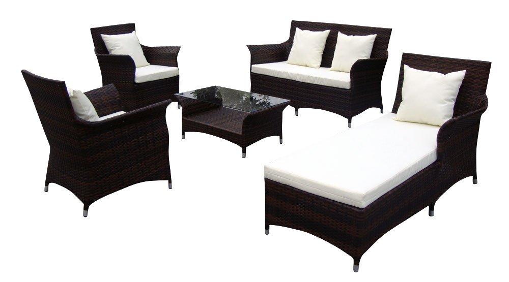 Baidani Gartenmöbel-Sets 10c00037.00002 Designer Lounge-Garnitur ...