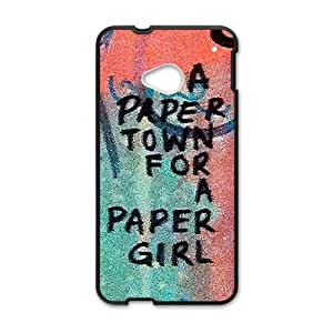 a paere town for a paper girl Phone Case for HTC One M7