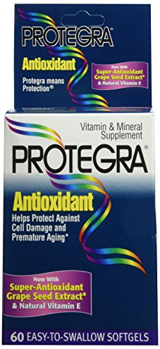 PACK OF 3 EACH PROTEGRA ANTIOXIDANT VITAMIN 60EA PT#63665237718