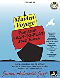 Vol. 54, Maiden Voyage: Fourteen Easy-To-Play Jazz Tunes (Book & CD Set) (Play- a-Long)