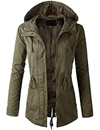 Amazon.com: Green - Trench, Rain & Anoraks / Coats, Jackets ...