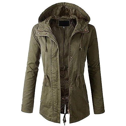 Olive Green Plus Size Jackets: Amazon.com
