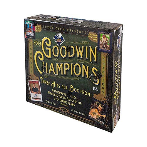 2019 Upper Deck Goodwin Champions Hobby Box
