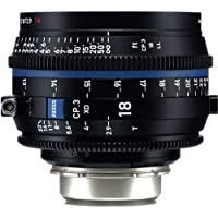 Zeiss 18mm T2.9 CP.3 XD Compact Prime Cine Lens (Feet) with PL Bayonet Mount