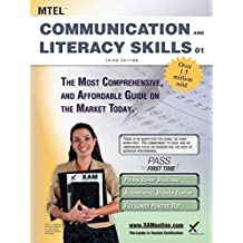 MTEL Communication and Literacy Skills 01 Teacher Certification Study Guide Test Prep