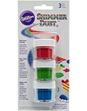 Wilton Shimmer Dust 3 Count Primary