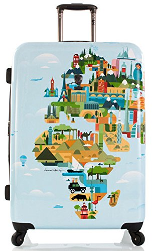 FVT World Map 30'' Spinner Suitcase by HEYS AMERICA