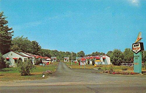 Wells Maine Midway Motor Court Vintage Postcard J61970