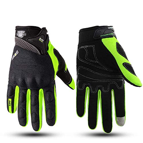 Hake Protective Men Women Full Finger Motocross Riding Gloves Motorcycle Gloves 3 XL