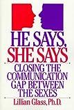He Says, She Says, Lillian Glass, 0399518126