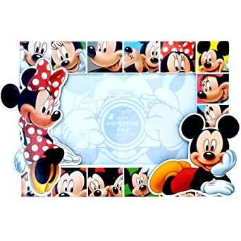amazoncom disney mickey mouse and minnie mouse photo frame clothing - Mickey Mouse Picture Frames