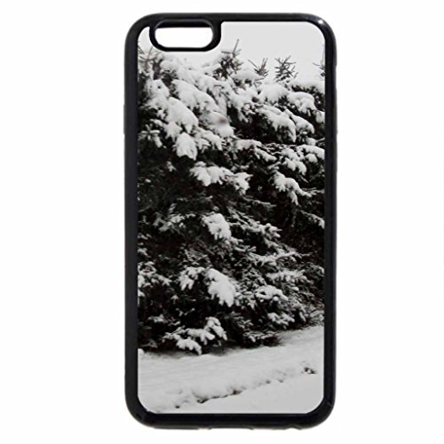 iPhone 6S Case, iPhone 6 Case (Black & White) - Winter wonderland in Alberta 14