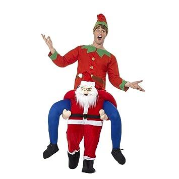 NET TOYS Disfraz a cuestas Hombre de Navidad | Original ...