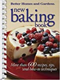 New Baking Book, Better Homes and Gardens, 0696221594