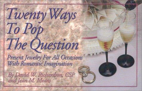 Twenty Ways to Pop the Question pdf epub