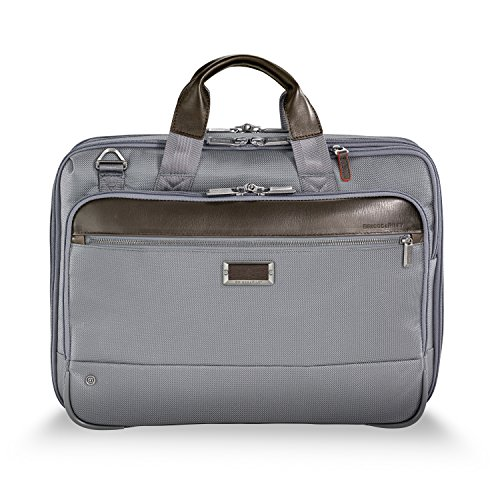 Briggs Luggage & Riley Tag (Briggs & Riley @work Medium Expandable Briefcase, Gray)
