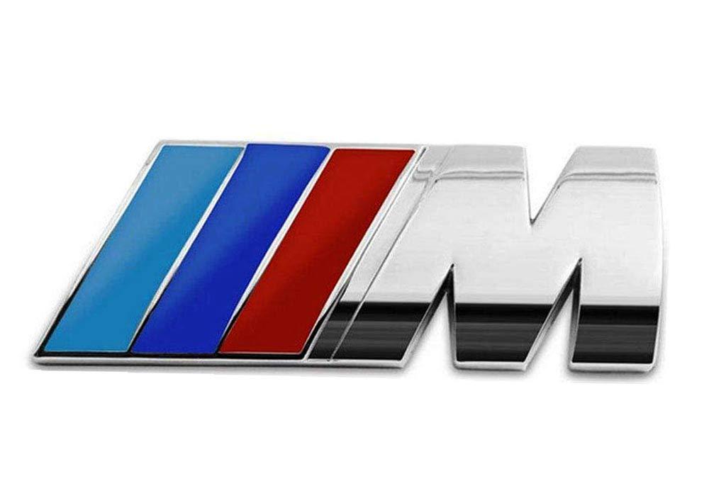 ROCK RARA 3D Car M Front Grille Emblema Insignia Insignia Emblema para BMW C