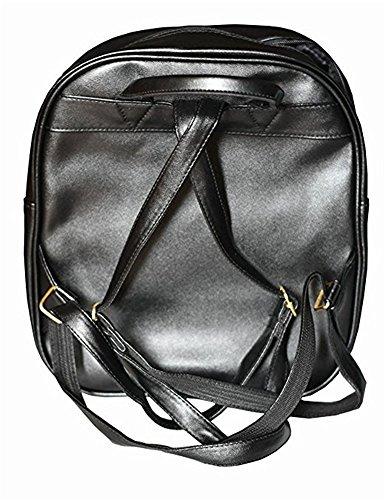 TOMATO-smile - Bolso mochila  para mujer negro