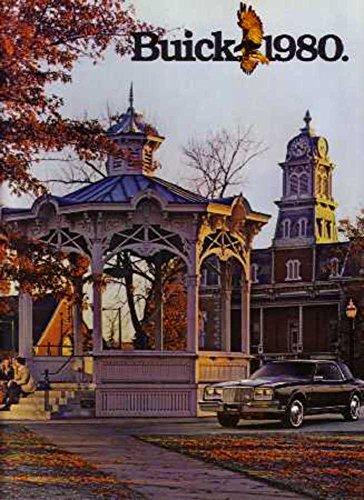 1980 Buick Sales Brochure Literature Book Piece Advertisement Dealer