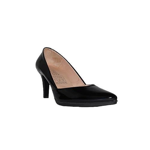 Flex Mujer Total En Tacón Charol Zapatos Alto dwXFqOA