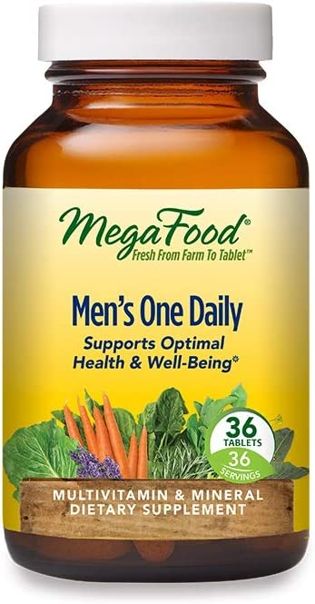 MegaFood Men's One Daily, 36 Tablets (36 Servings)