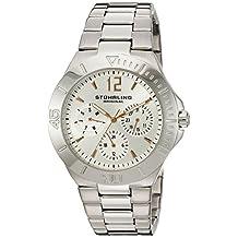 Stuhrling Original Women's 558.01 Symphony Regent Capital Quartz Day and Date Stainless Steel Bracelet Watch