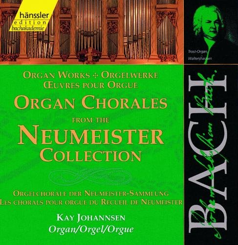(Bach Organ Chorales From The Neumeister Collection Bwv No.'S 714 719 752 957 1090-1095 & 109)