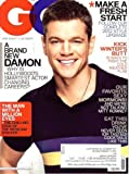 GQ Magazine (January, 2012) Matt Damon