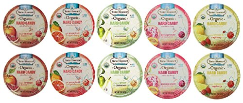 Torie & Howard Organic Hard Candy 5 Variety (Pack of 10)