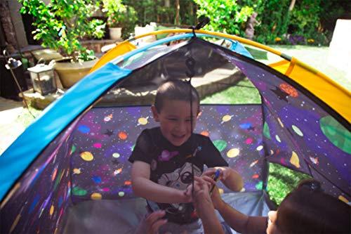 Pacific Play Tents 41200 Kids Galaxy Dome Tent w/Glow in the Dark Stars – 48″ x 48″ x 42″