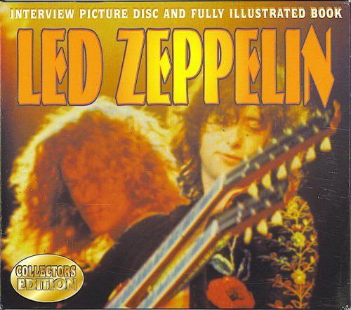 Led Zeppelin Interview Picture Disc and Fully Illustrated Book by MasterTone Multimedia