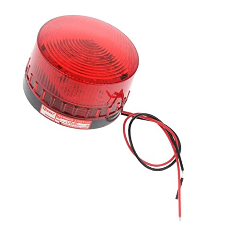 Sharplace 2 Pezzi 220v Emergenza Led Lampeggiante Strobe Segnale Luce Warning Light Lamp Beacon