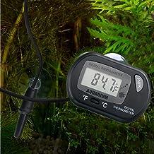 HDE Digital Aquarium Thermometer Fish Tank Thermostat Water Temperature Control (1 Pack)
