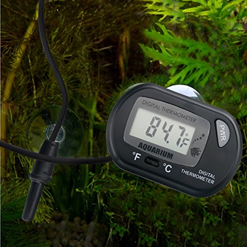 HDE Aquarium Thermometer Terrarium Temperature