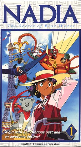 Nadia: Secret of Blue Water, Vol. 1 - The Adventure Begins [VHS] (Clay Cassidy)
