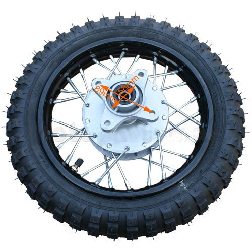 Motorcycle Rear Wheel Assembly - 7