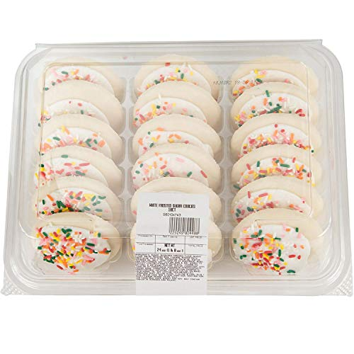 Frosted Cookies Sugar - Ibake White Iced Frosted Sugar Cookies (18 ct.) AS