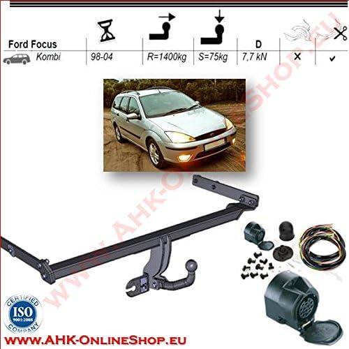 Für Ford Focus II Turnier Anhängerkupplung starr ABE
